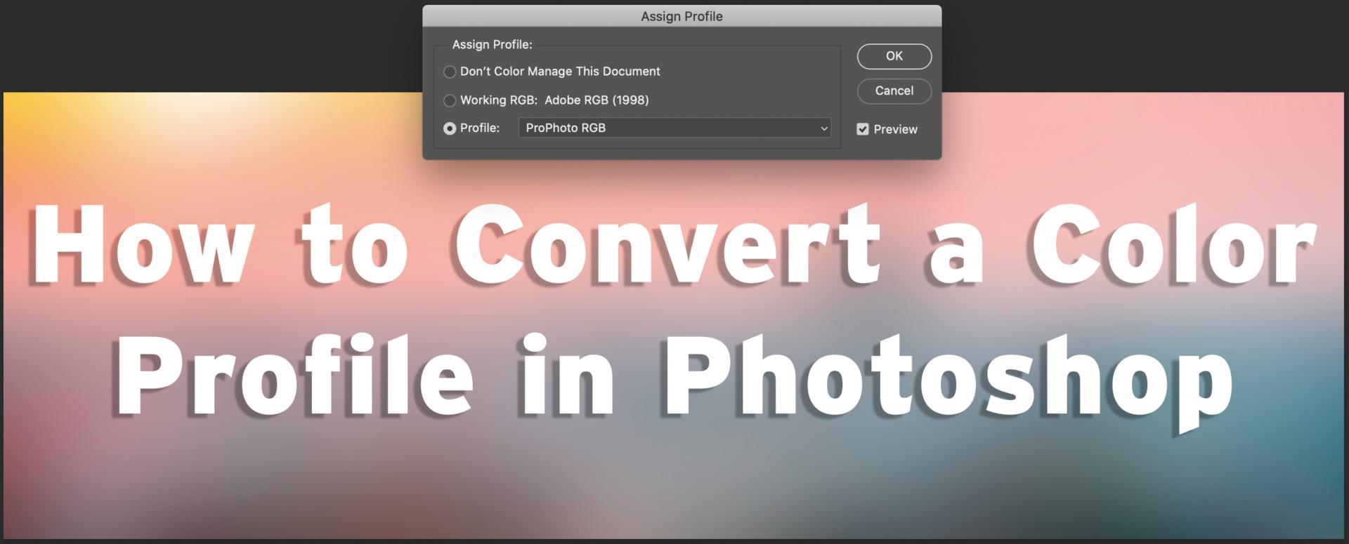 Example of ProPhoto RGB