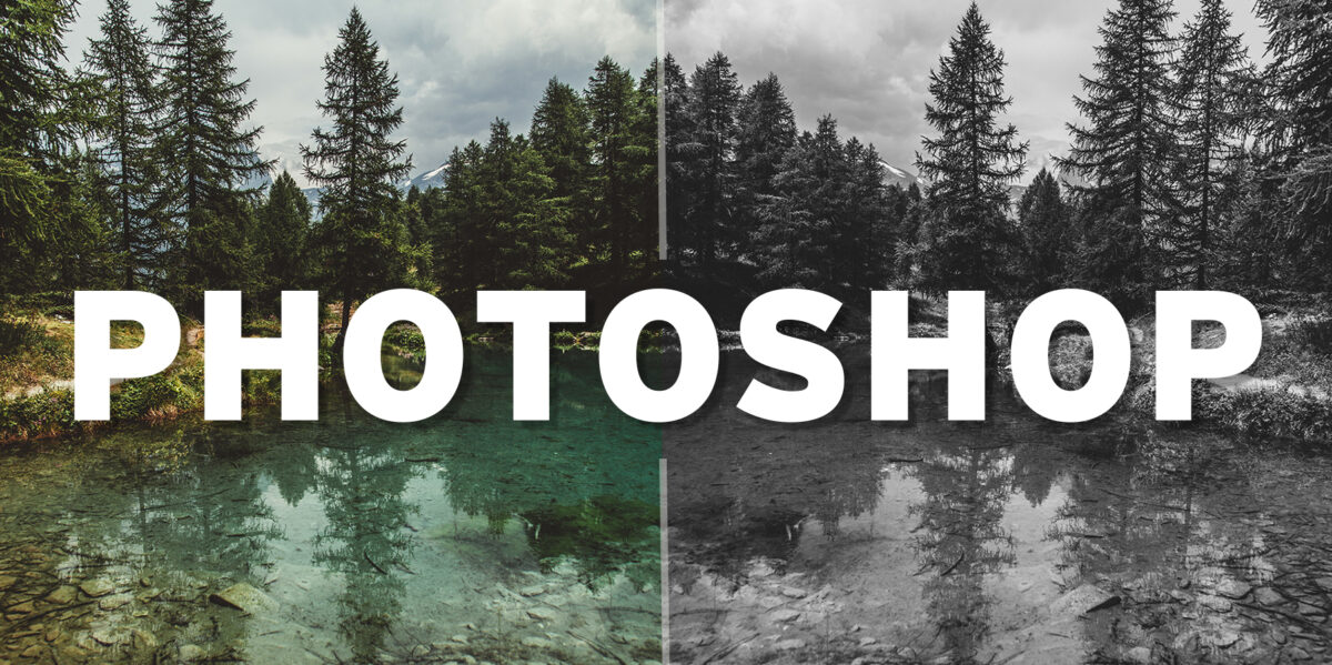 Convert Color to Grayscale in Photoshop
