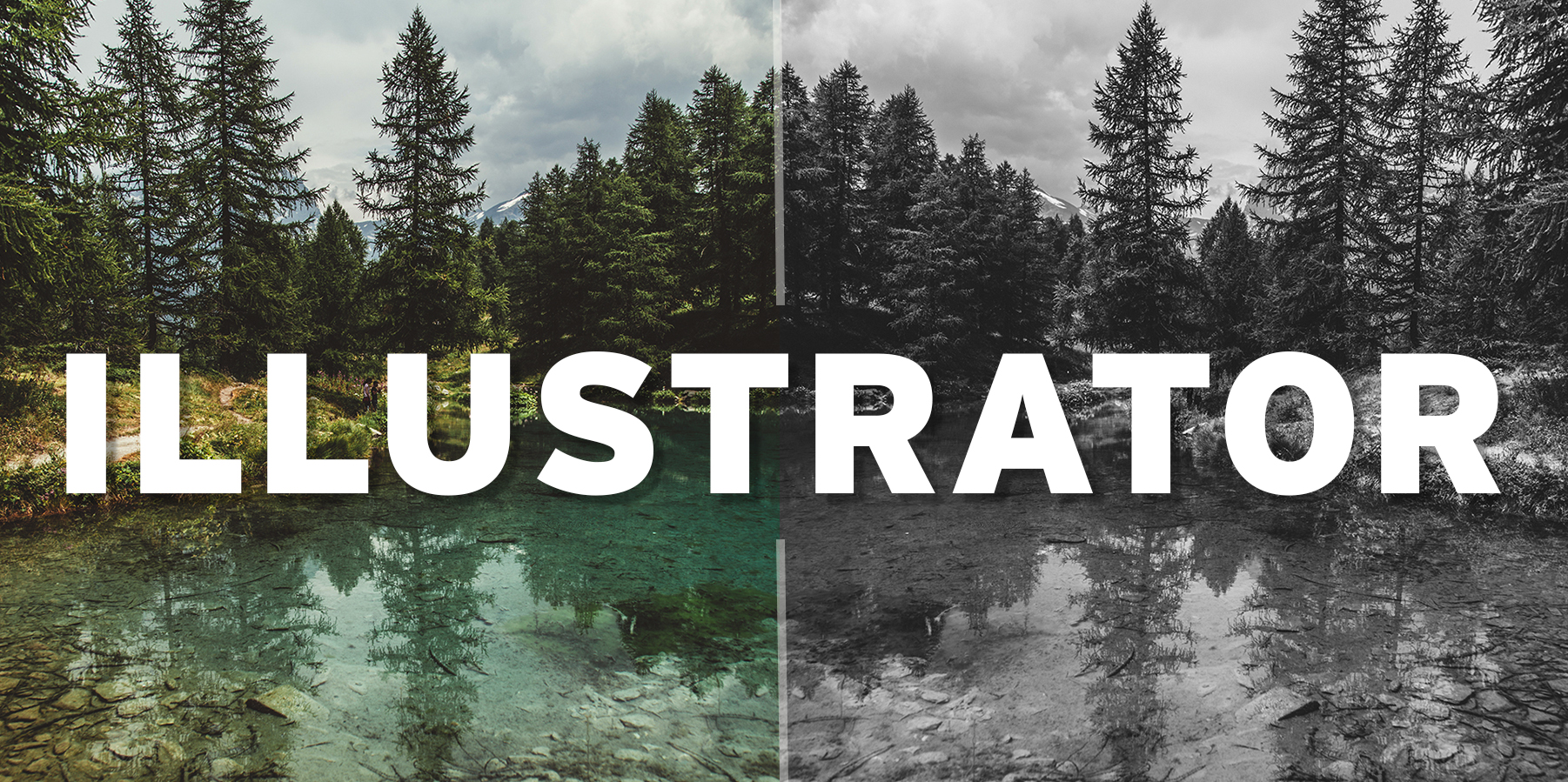 Illustrator: Converting color to grayscale